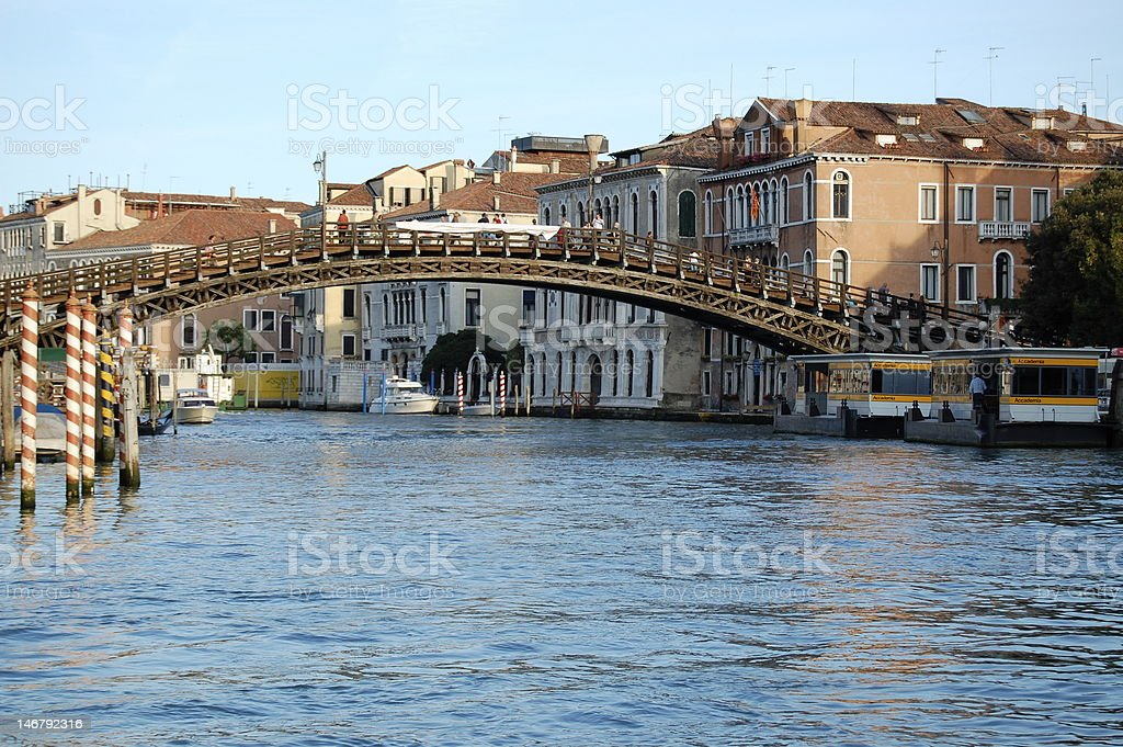 Accademia Bridge stock photo