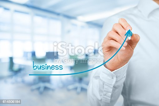 509469434istockphoto Accelerate business growth 614506184