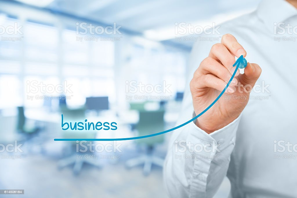 Accelerate business growth stock photo