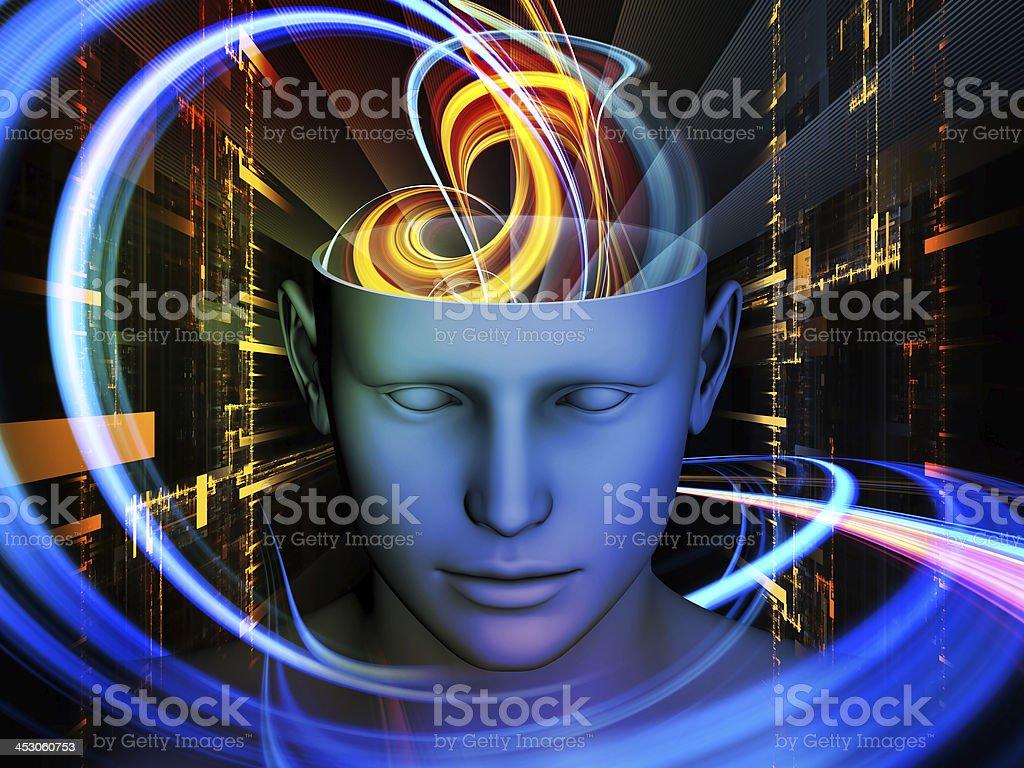 Acceleration of the Mind royalty-free stock photo