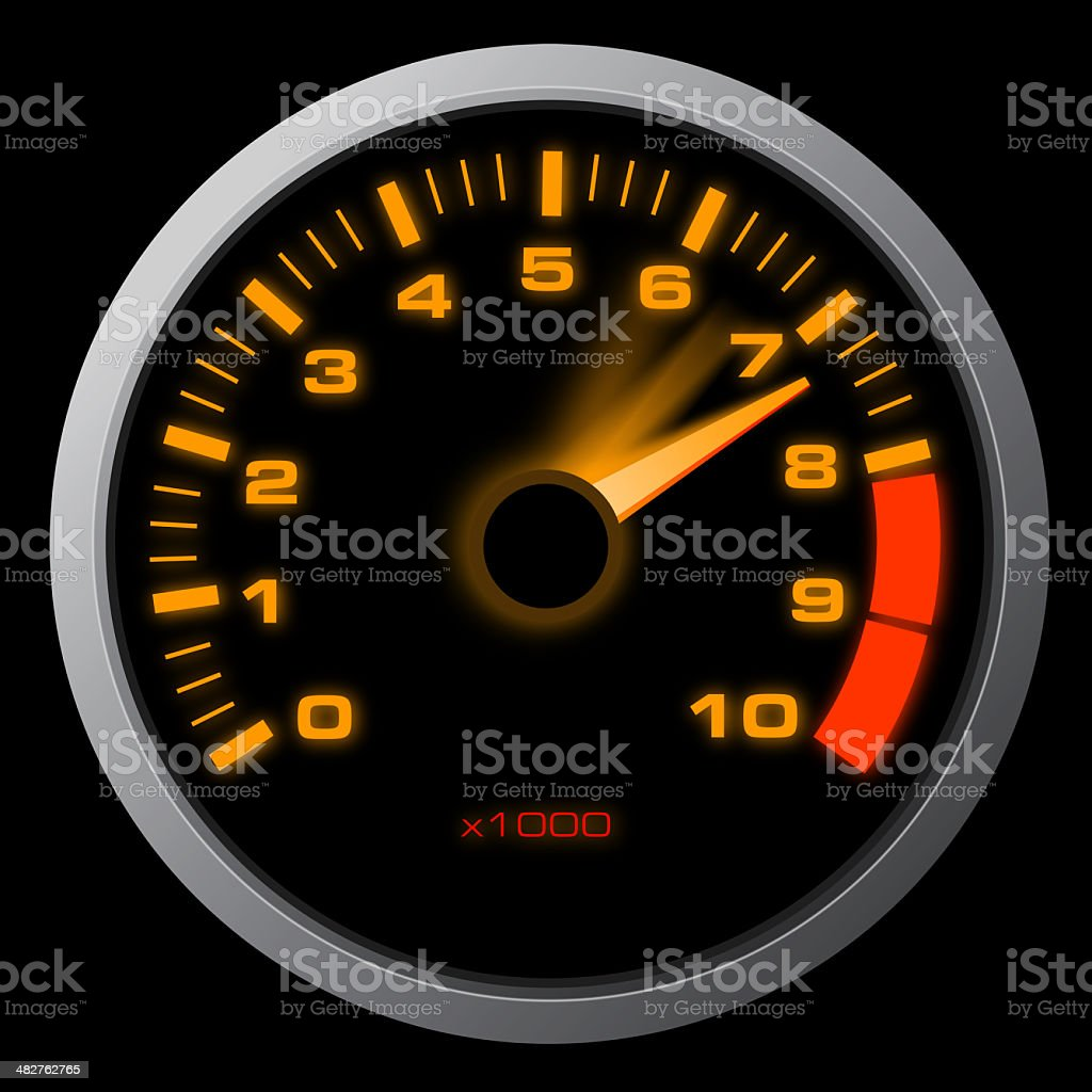 Acceleration royalty-free stock photo