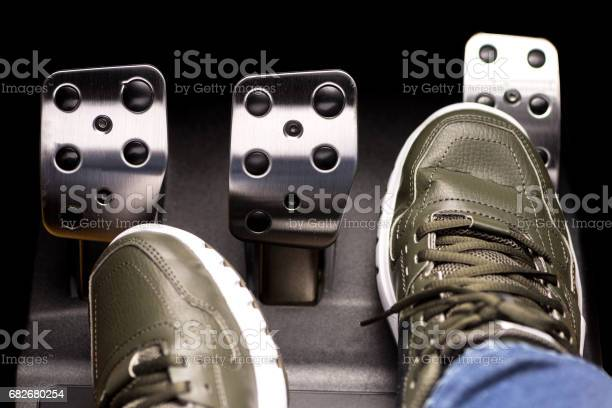 Accelerator Pedal high quality and high resolution studio shoot