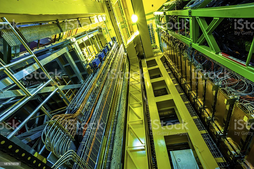 LHC Accelerator Systems stock photo