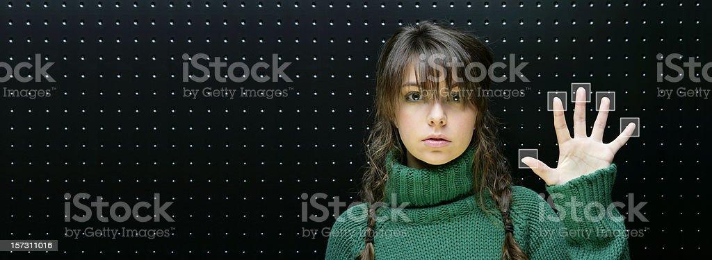 Access code royalty-free stock photo