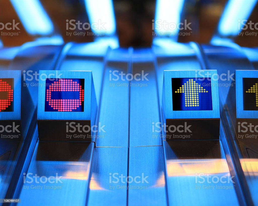 Access Confusion royalty-free stock photo