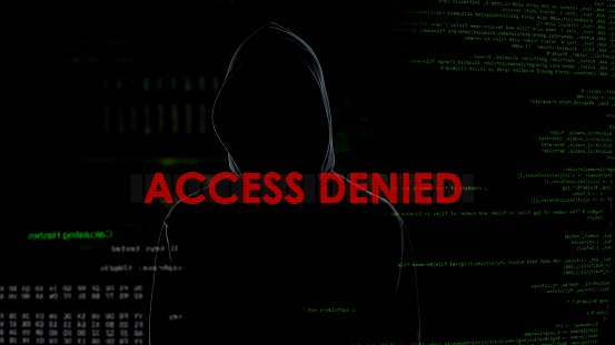 Access Denied Unsuccessful Hacking Attempt On Server Hacker