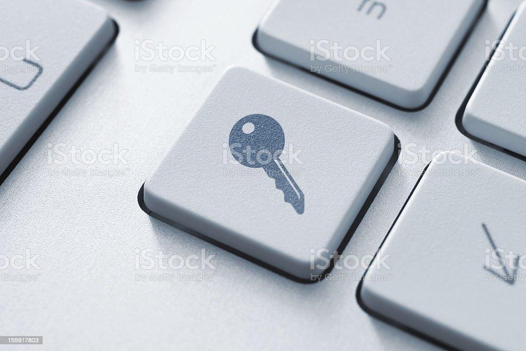 Access Key royalty-free stock photo