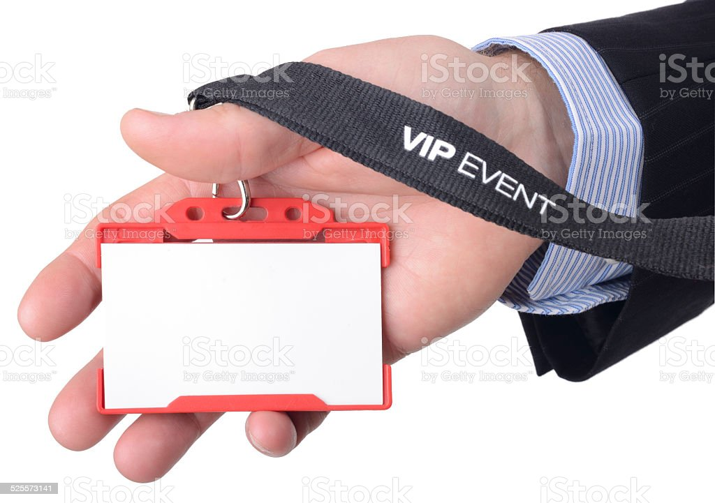 VIP access stock photo