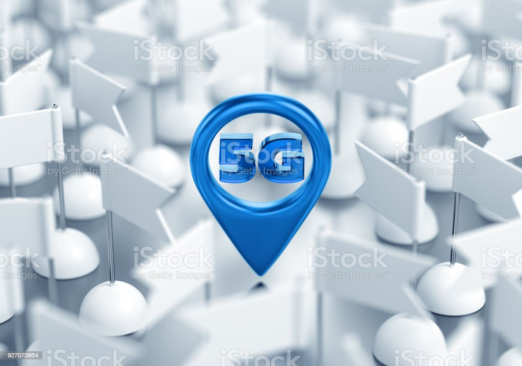 Access Point Location Of 5g Wireless Network Stock Photo More
