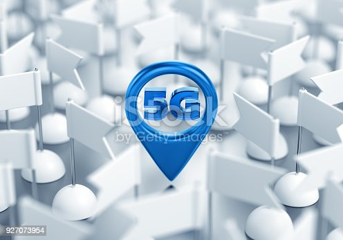 istock Access Point Location Of 5G Wireless Network 927073954