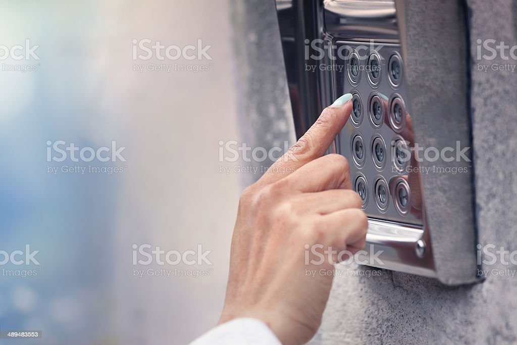 Access security stock photo