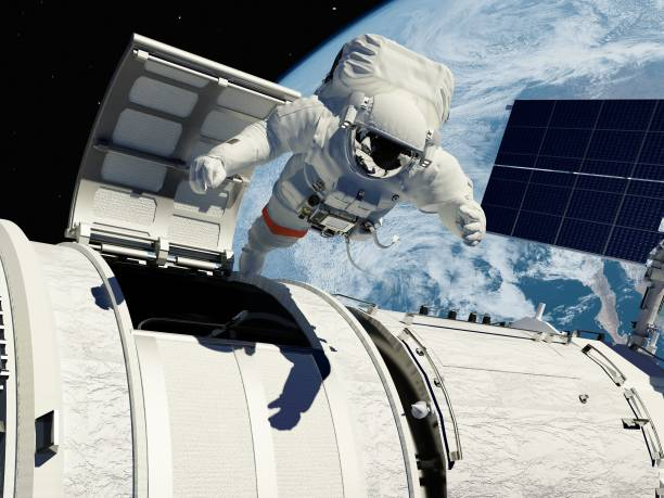 Access to space. stock photo