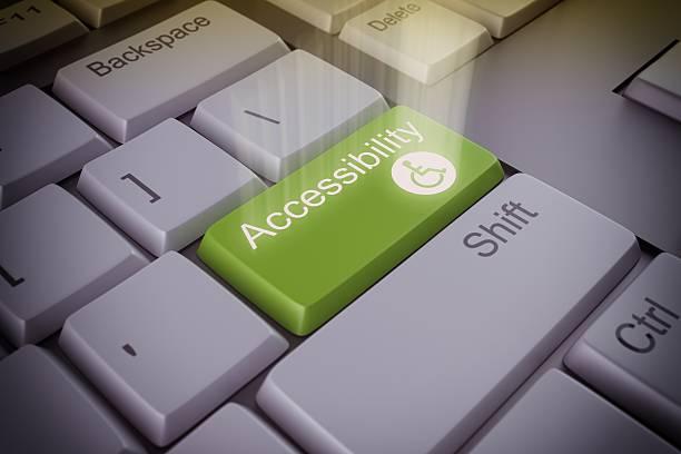 Chiave di accessibilità - foto stock