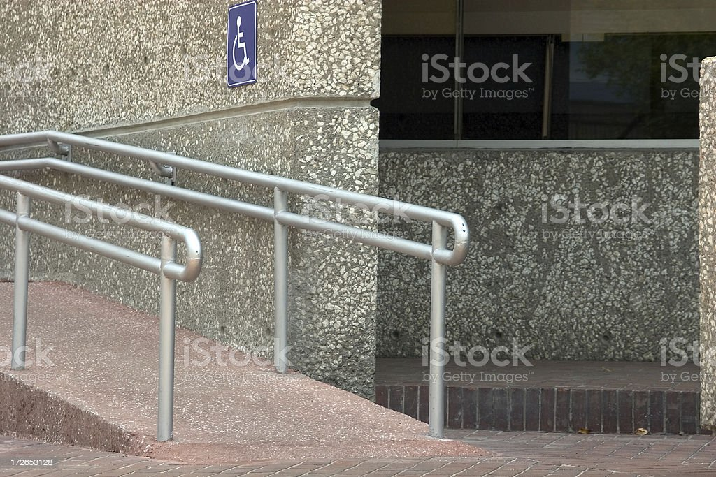 accessible entrance royalty-free stock photo
