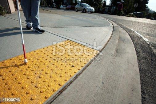 istock Accessible Sidewalk Edge 471098743