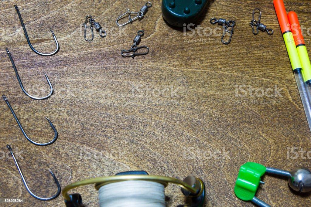 accessories fisherman stock photo