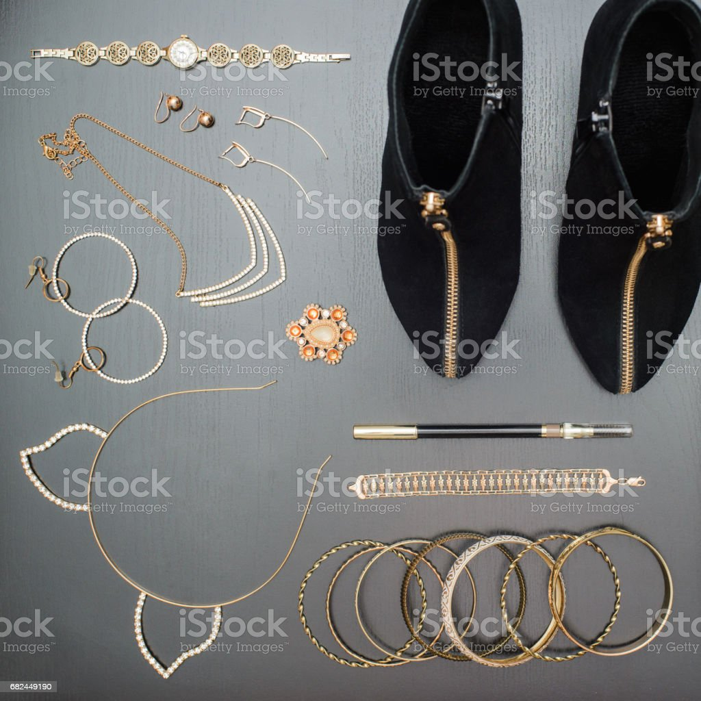 Accessories for the meeting royalty-free stock photo