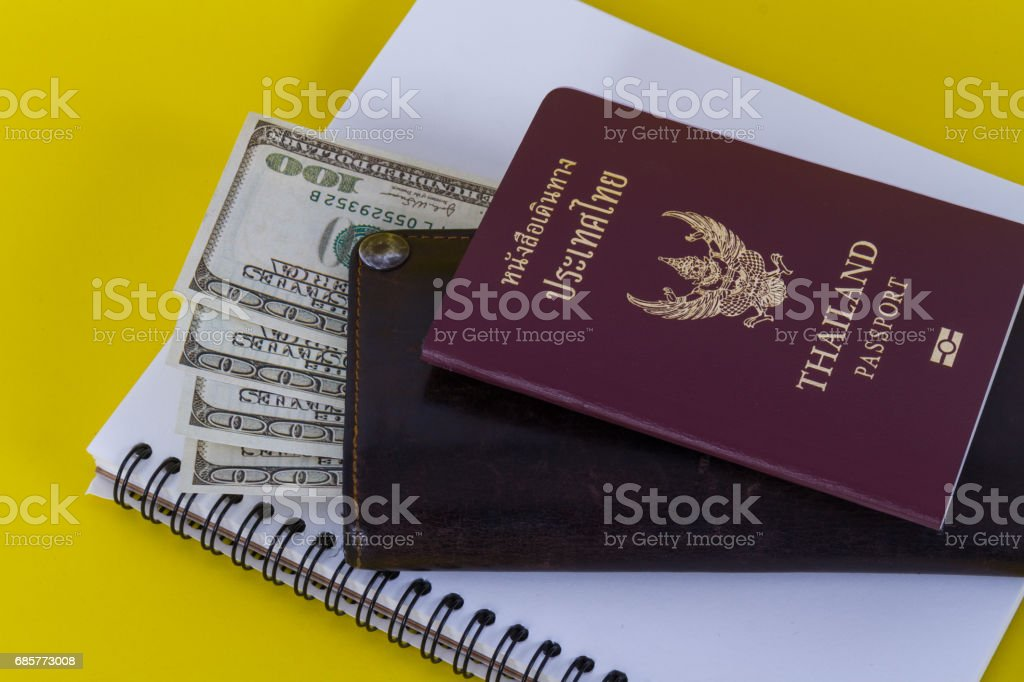Accessories for travel royalty-free stock photo