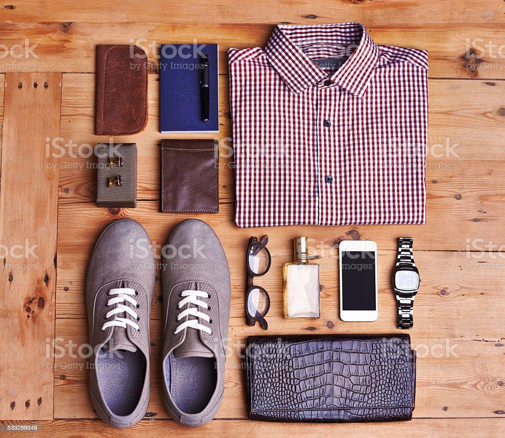 Accessorize stock photo