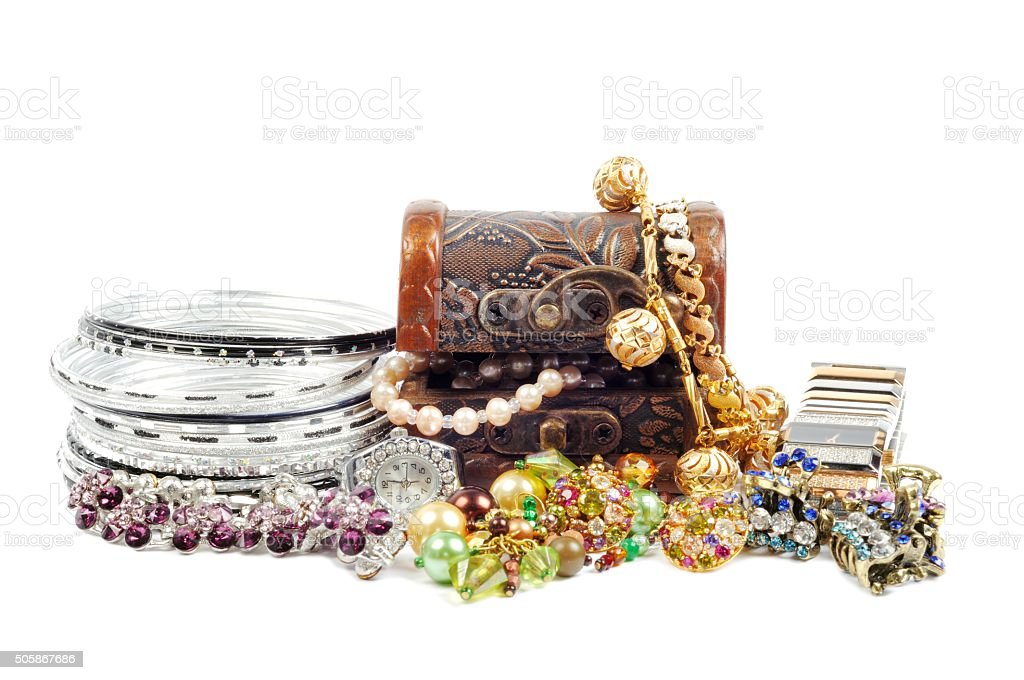 Accessory and jewels stock photo