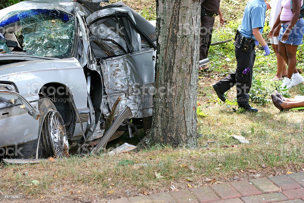 Accident 11 royalty-free stock photo