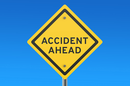 istock accident ahead road sign 517052784