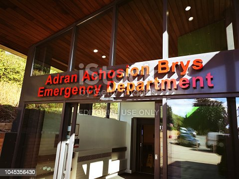 istock Accident and Emergency Department Entrance 1045356430