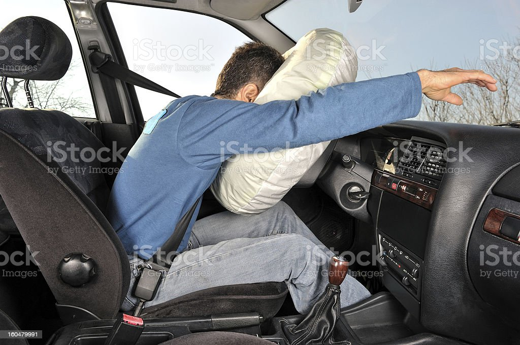 accident car four stock photo