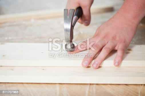 istock Accident during renovation 511707963