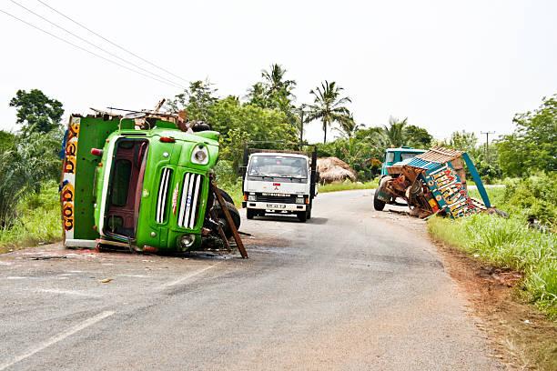 Accident de la route. - Photo