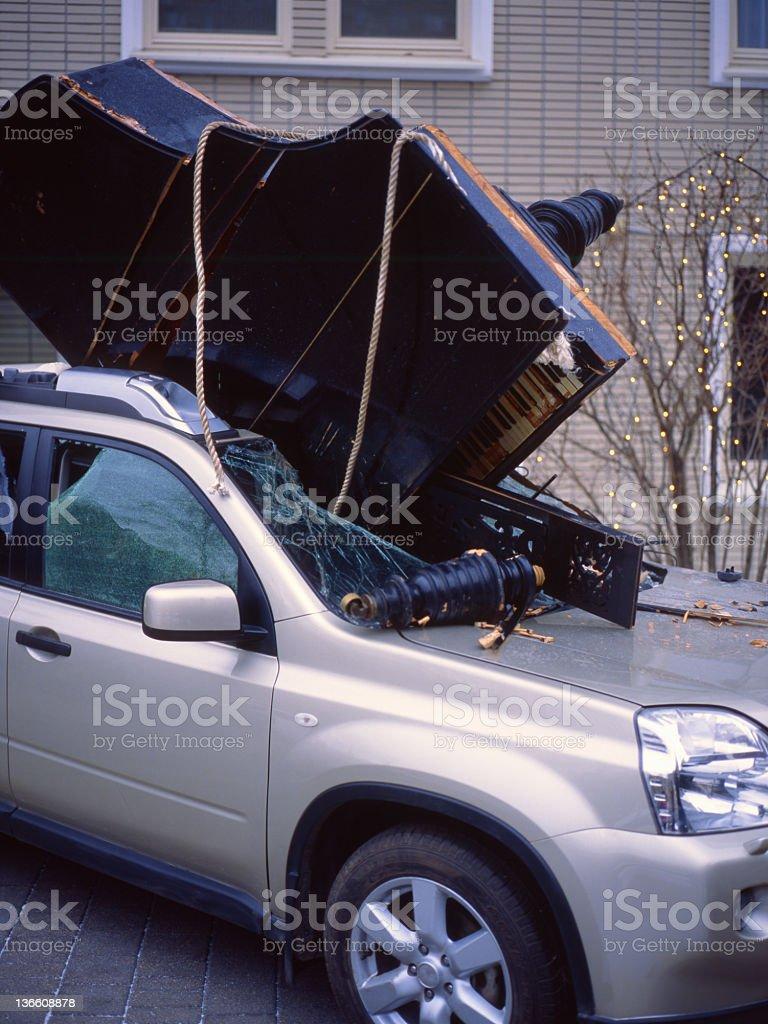 Incidente. - foto stock