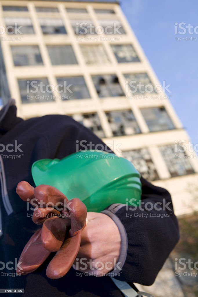 Accident prevention royalty-free stock photo