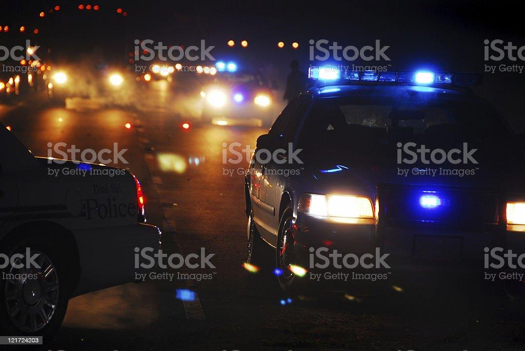 Accident Scene stock photo