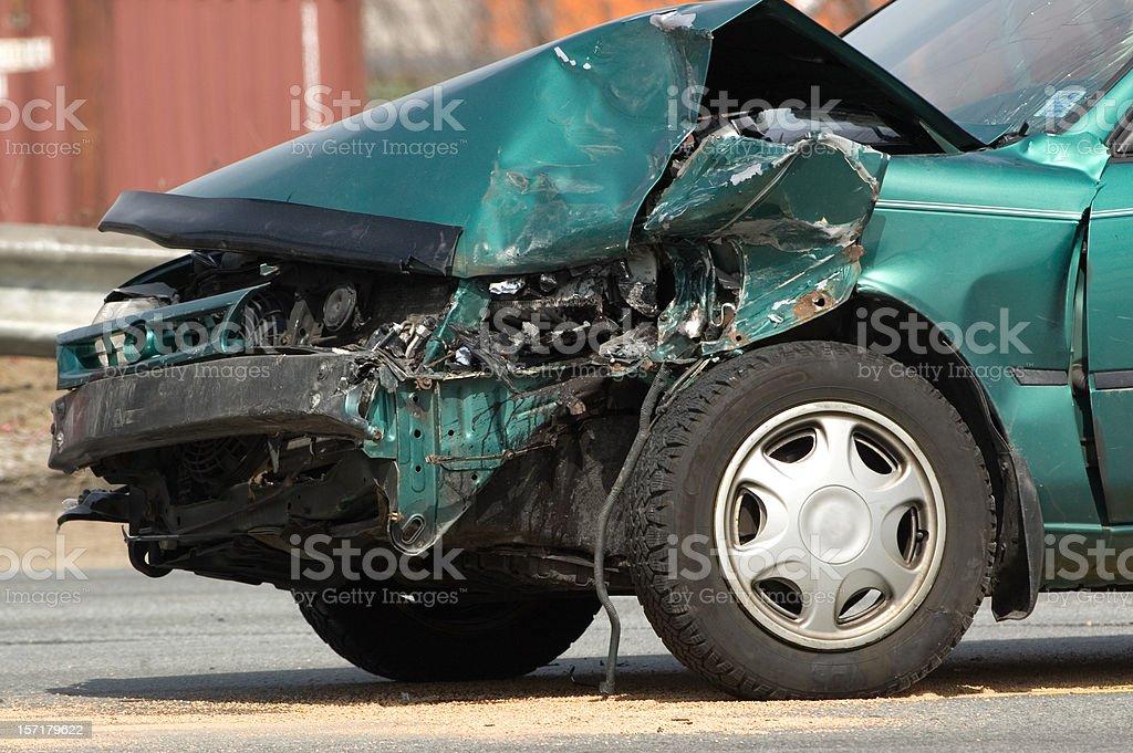 Accident Scene royalty-free stock photo