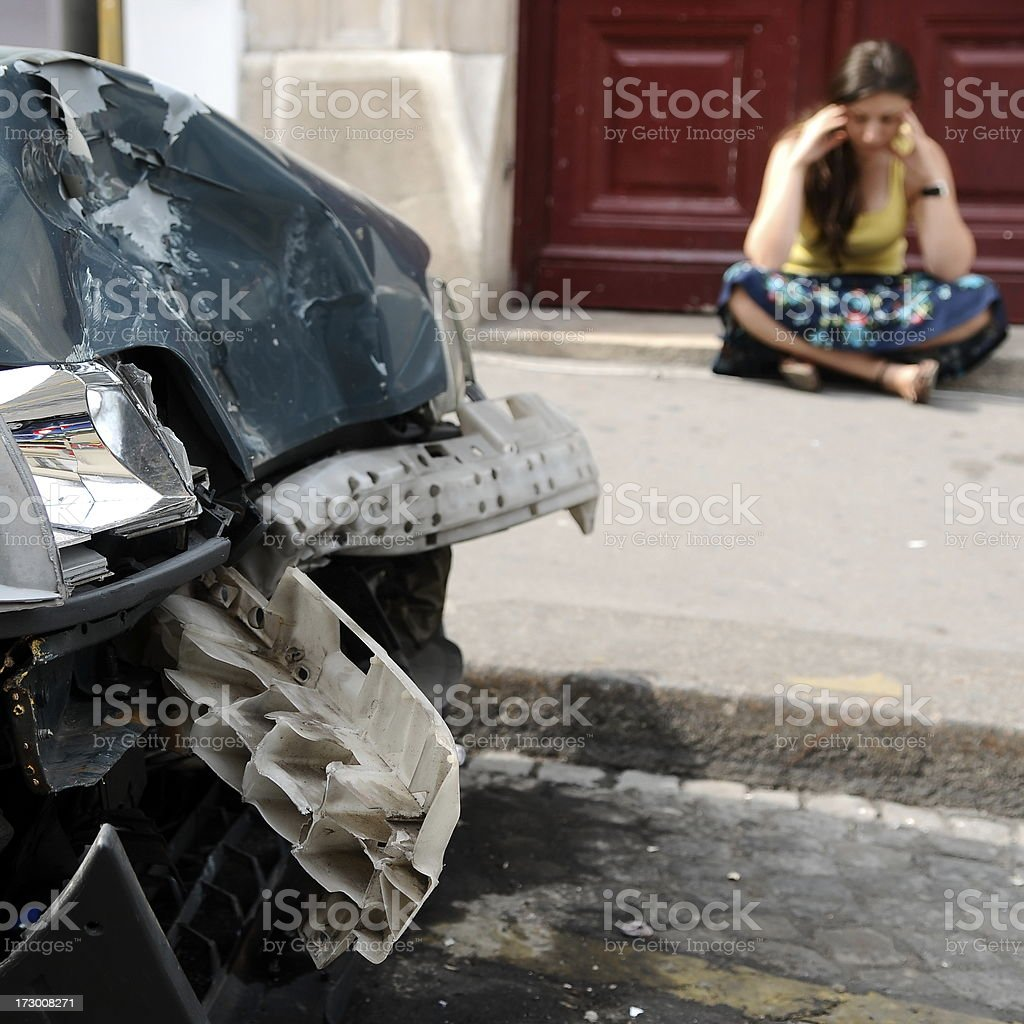 accident series royalty-free stock photo