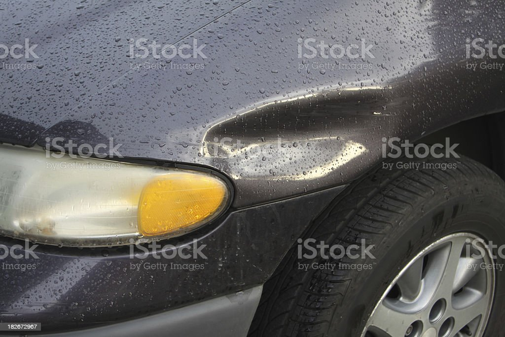 Accidental Dent stock photo
