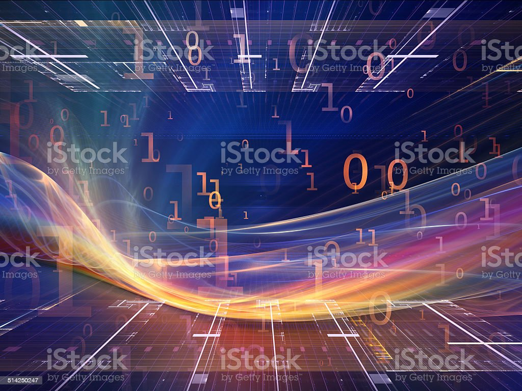 Accidental Fractal Realms stock photo