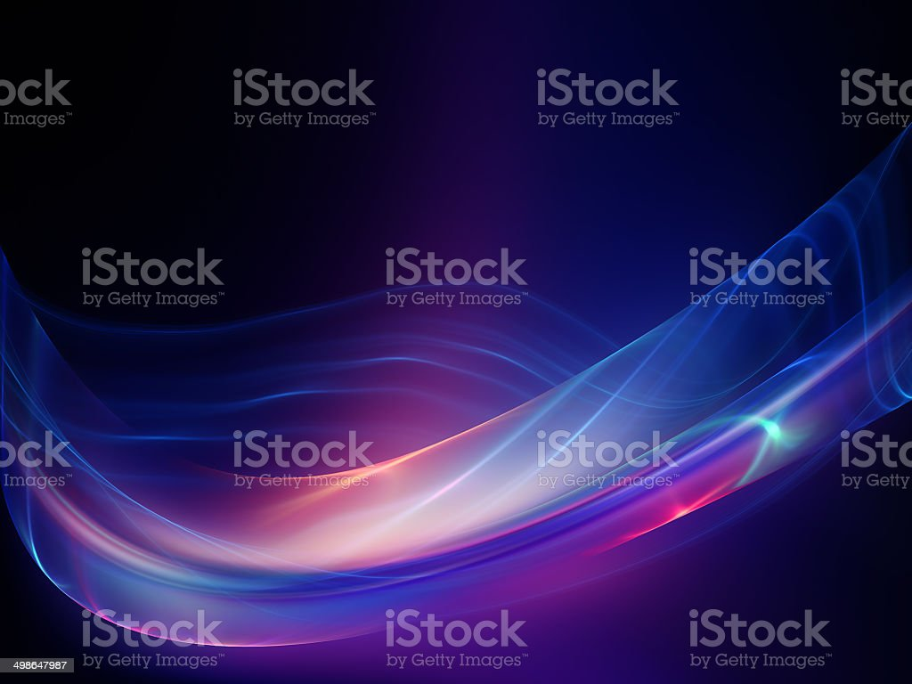Accidental Fractal Waves stock photo