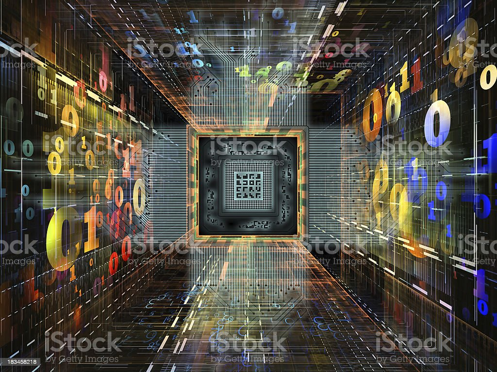 Accidental Numbers royalty-free stock photo