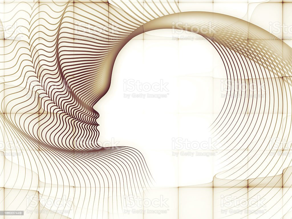Accidental Soul Geometry royalty-free stock photo