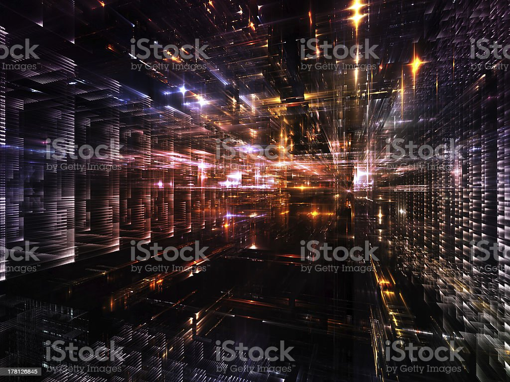 Accidental Urban Abstraction royalty-free stock photo