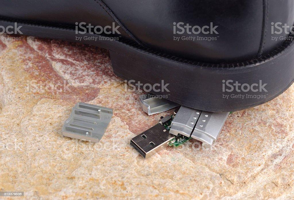 Accidently Erase stock photo