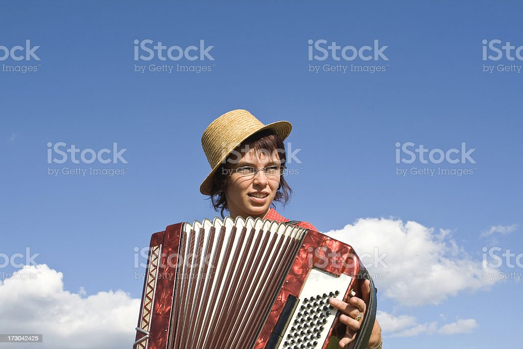 Accordion Girl Stock Photo & More Pictures of Accordion - Instrument