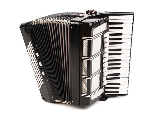 accordion isolated - accordion stock photos and pictures