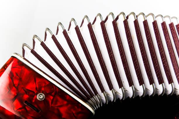 accordion, musical instrument stock photo