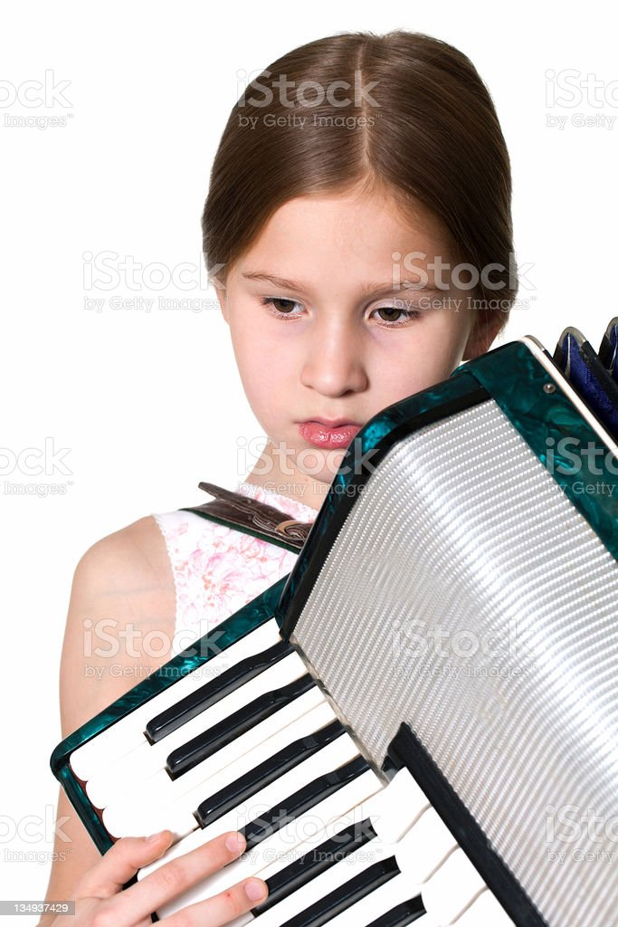 accordion royalty-free stock photo