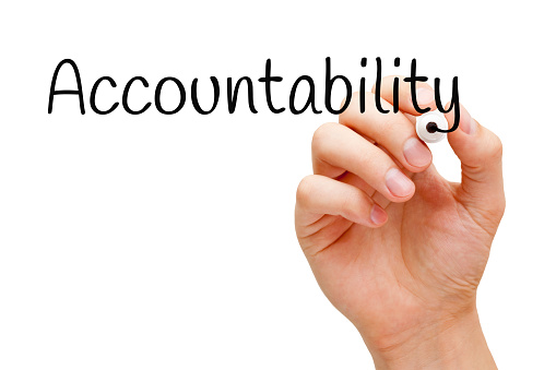 Accountability Black Marker