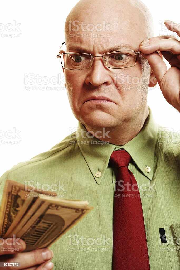 Accountant royalty-free stock photo
