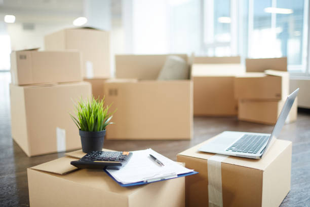 accountant supplies - relocation stock photos and pictures