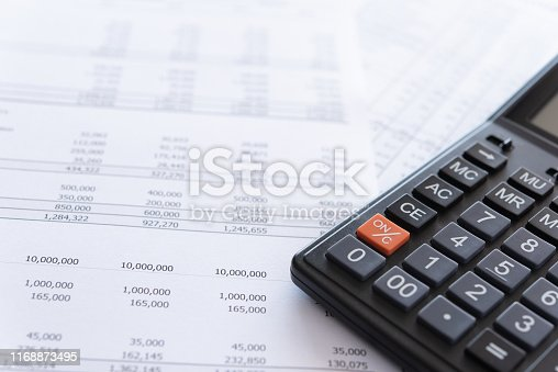 675825950 istock photo Accounting business 1168873495